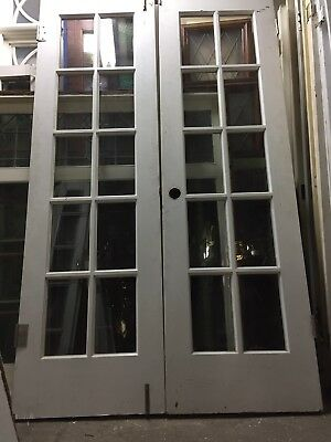 "French Doors 80"" X 24""ea 48 Inch Open 10 Light"
