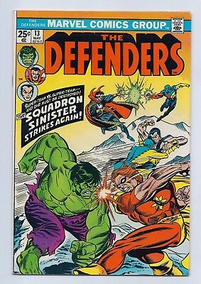 Defenders 13 VF 8.0 Bronze Age