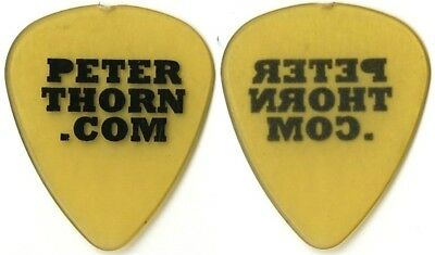 Chris Cornell Peter Thorn authentic 2009 tour issued custom stage Guitar Pick