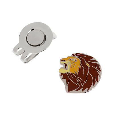 Mighty Lion Magnetic Hat Clip and Golf Ball Marker Fit for Golf Cap Visor