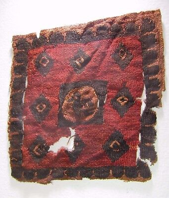 Ancient Egyptian Coptic Textile Fragment  CT2, 4th to 7th Century AD