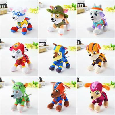 8 20cm Paw Patrol Dogs Action Figurine Transformation Toy Figure Topper Toysst