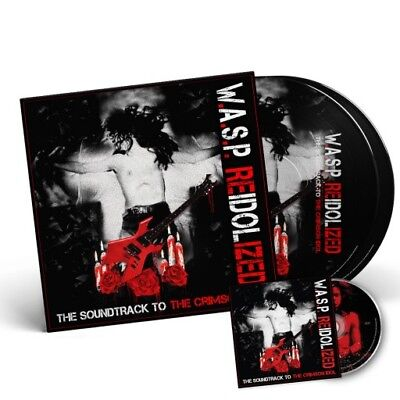 Re-Idolized W.A.S.P WASP Reidolized picture disc + dvd ships worldwide