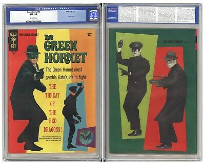 Green Hornet #2  Cgc Nm 9.2 - Fantastic Back Cover Variant Pin-Up - Bruce Lee!