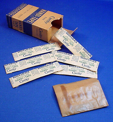 Vintage Curity Handi-Tape Adhesive Bandages Cardboad Box With Contents - Canada