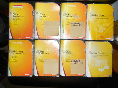 Lot = 11 Microsoft Office 2007 PowerPoint  Outlook OneNote for Windows XP 7 8 10