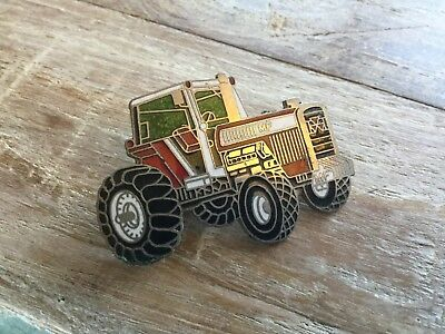MF Tractor Pin Massey Ferguson Vintage Farm Equipment Advertising Jewelry