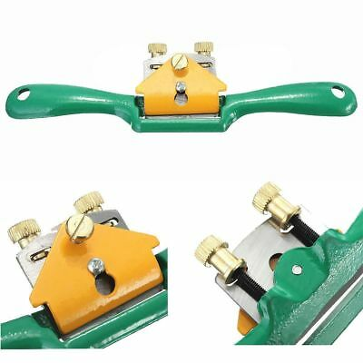 Iron Spoke Shave Plane 44mm Cutting Edge Metal Wood Shaping Woodworker 215x12mm