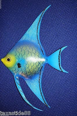 "(1),seafood Restaurant Decor, Tropical Fish, 6"", Coral Reef, Ocean Decor, F198"