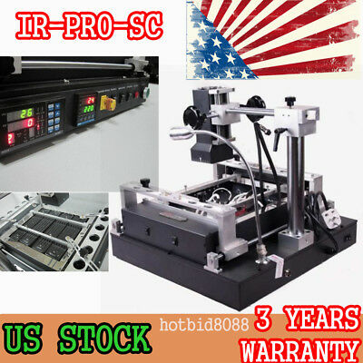 Upgrade Infrared IR-PRO-SC BGA Rework Station Soldering solder Machine 2000W TOP
