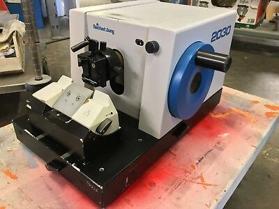 Leica Reichert Jung Biocut 2030 Manual Retracting Microtome includes Knifeholder