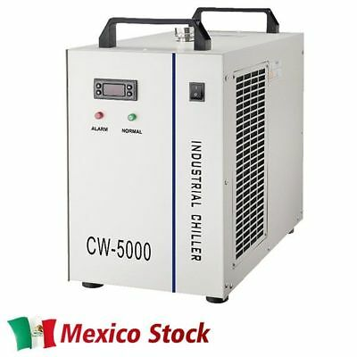 220V CW-5000BG Industrial Water Chiller for Single 80W/100W CO2 Glass Laser Tube