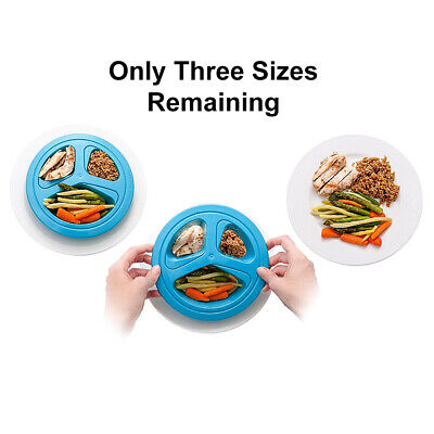 Portions Master Portion Control Template Plate Weight Loss Diet Healthy Eating
