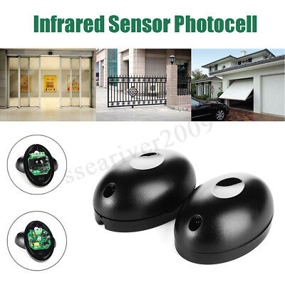 Photocell Safety Warming Beam Infrared Gate & Door Sensor Infra Red Photo Cell