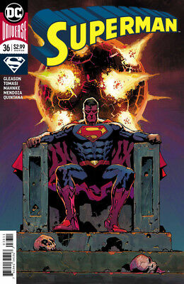Superman #36 Dc Universe - 1St Print - Bagged And Boarded. Free Uk P+P!