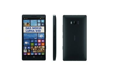 Nokia Lumia 930 in Black Handy Dummy Attrappe - Requisit, Deko, Ausstellung
