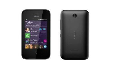 Nokia Asha 230 in Black Handy Dummy Attrappe - Requisit, Deko, Ausstellung
