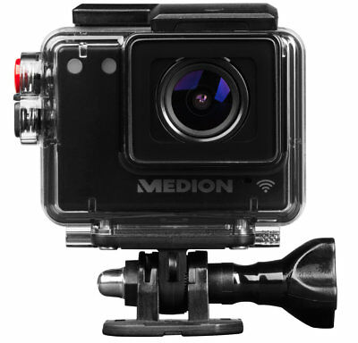 MEDION LIFE S89038 MD 87156 WLAN Action Camcorder 5MP Full HD Video wasserdicht