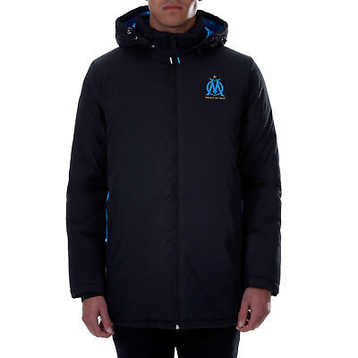 Olympique de Marseille Parka Black Mens