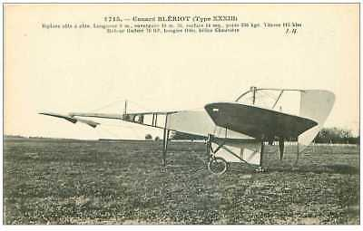 aviation .n° 33053.  canard bleriot