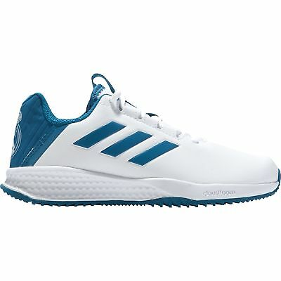 Real Madrid Astro Turf Trainers Sports Shoess Shoes White Kids adidas