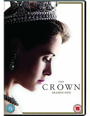 The Crown Season 1 DVD Boxset Brand New(Sealed) Region 2 FAST & FREE DELIVERY