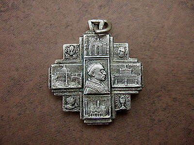 Vintage Catholic Medal Pope Pius XII Papal Rome Vatican St. Peter & Paul