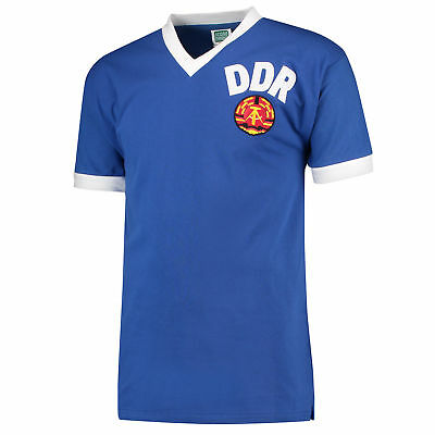 East Germany 1974 Retro Football Shirt Mens