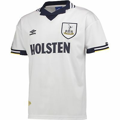 Tottenham Hotspur 1994 Umbro Football Home Retro Shirt Mens