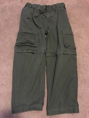 Boy Scouts Of America Green Cargo Pants Size Youth 18