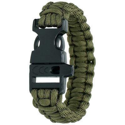 Highlander 15m 4mm Paracord Olive 250k strain Camping Hiking CS014OG