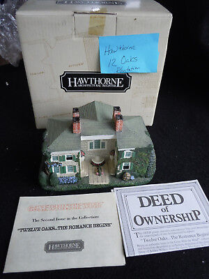 Hawthorne TWELVE OAKS House in the Gone with the Wind Collection #2  w Box