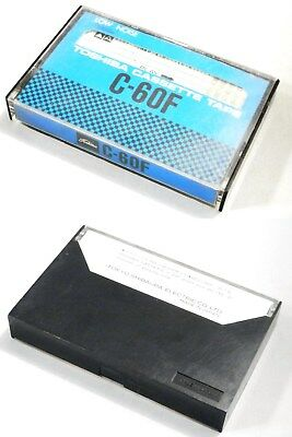 """One(1) TOSHIBA cassette tape C-60F Japanese """"EARLY"""" version Good condition"""