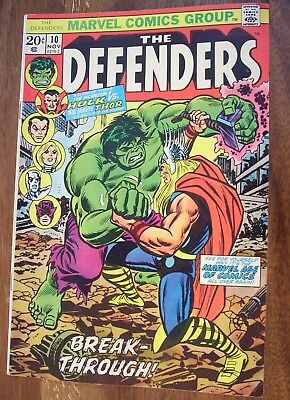 The Defenders #10 (Marvel Comics Group)