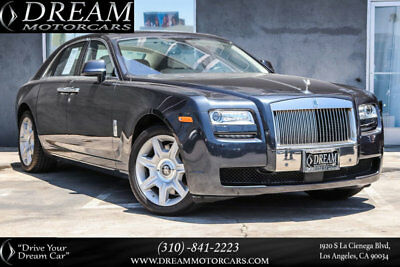 2012 Rolls-Royce Ghost 4dr Sedan 2012 Rolls-Royce Ghost 4dr Sedan 31922 Miles Darkest Tungsten Metallic Sedan 6.6