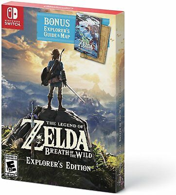 The Legend of Zelda: Breath of the Wild Explorer's Edition for Nintendo Switch