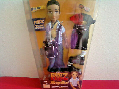 Bratz Boyz Boy Dylan Doll Step Off Collection Extra Outfit Poster Very Rare New