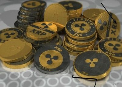 20 Ripple Coin (XRP) Crypto Currency Delivered Directly To Your Wallet