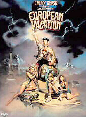 National Lampoon's EUROPEAN VACATION (DVD: Chevy Chase, Beverly D'angelo) - NEW!