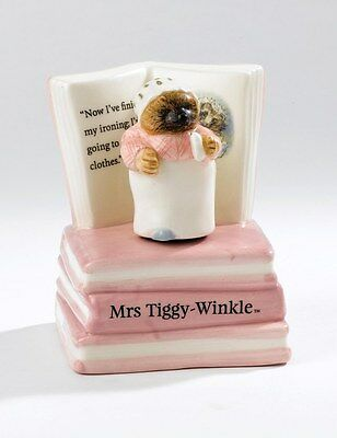 Beatrix Potter Peter Rabbit Mrs Tiggy-Winkle Musical Figurine in Gift Box