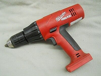 Milwaukee Power-Plus 18V Cordless Hammer Drill Driver 18 Volt Tool Only