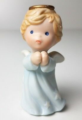 Avon 1986 Heavenly Blessings Christmas Nativity PRAYING ANGEL Replacement w/ Box