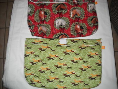 Breyer extended pony pouch pocket traditional classic custom model horse fabric
