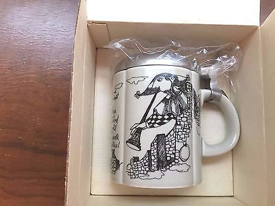 Bjorn Wiinblad signed Stein Rosenthal Studio Line New In Box