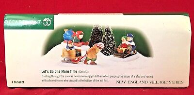 Lets Go One More Time Dept 56 New England Village 56621 Christmas accessory snow