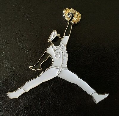 Michael Air Jordan Jump Man Mj Navy Cpo Chief Challenge Coin Non Nypd Nba Mess