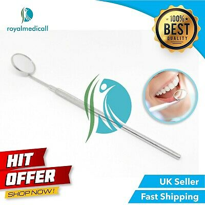 Dental Mouth Mirror No.5 with Halo Handle Stainless Steel ROYALMEDICALL