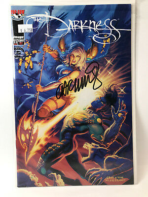 The Darkness (1996) #11 Signed by Garth Ennis  a