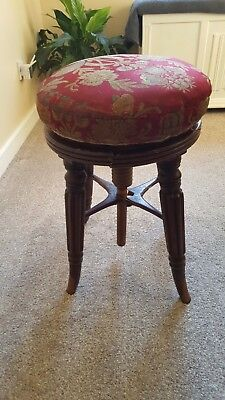 Antique Piano Stool for Restoration