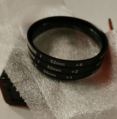 Promaster 52MM Spectrum 7 Close-Up Filter Set +1, +2, +4